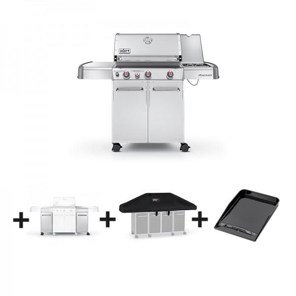 Cuisine appareils barbecue plancha electrique darty or cuisine appareilss - Barbecue weber genesis s330 inox ...