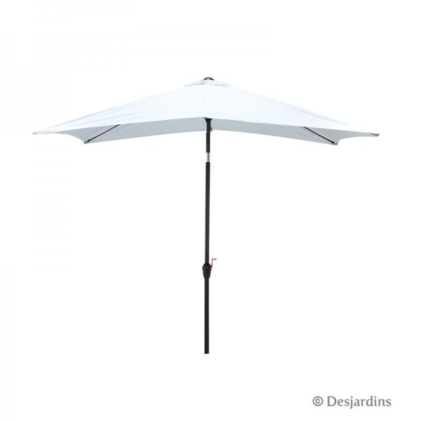 parasol rectangulaire desjardins. Black Bedroom Furniture Sets. Home Design Ideas