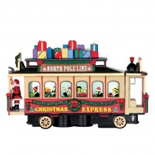 "Train ""Santa's cable car"" - LEMAX"