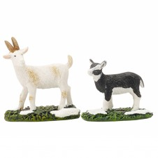 "Figurine ""Goat and Kid"" X2 - LUVILLE"