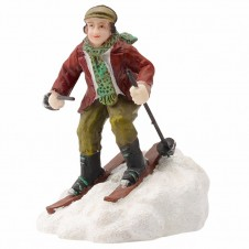 """Figurine """"Andre Is Skiing"""" - LUVILLE"""