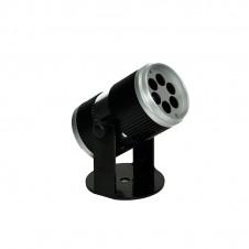 LED Projecteur flocon de neige - 12,5 cm - blanc - LUMINEO