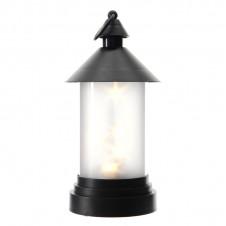 Lanterne avec rotation - 28,5 cm - noire - LUMINEO