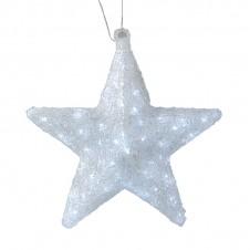 """Sujet acrylique led """"étoile"""" 40 cm - LUMINEO"""