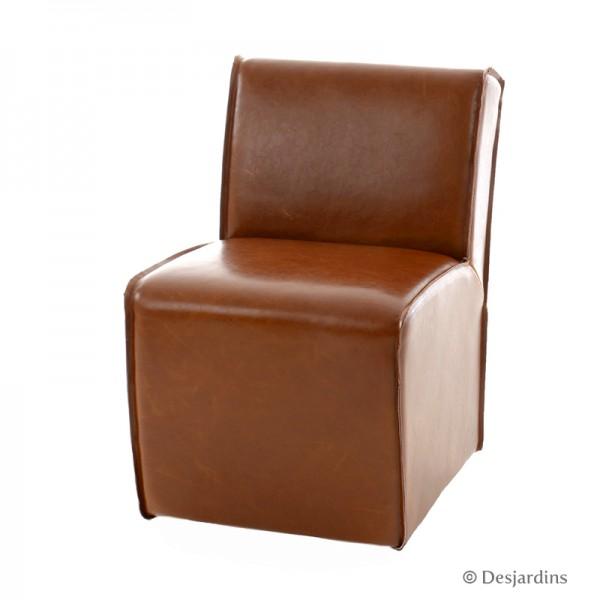 fauteuil bas chocolat desjardins. Black Bedroom Furniture Sets. Home Design Ideas