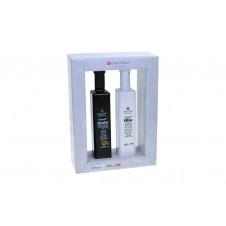 """Coffret """"huile d'olive et vinaigre balsamique"""" - 500 ml - COLLITALI"""