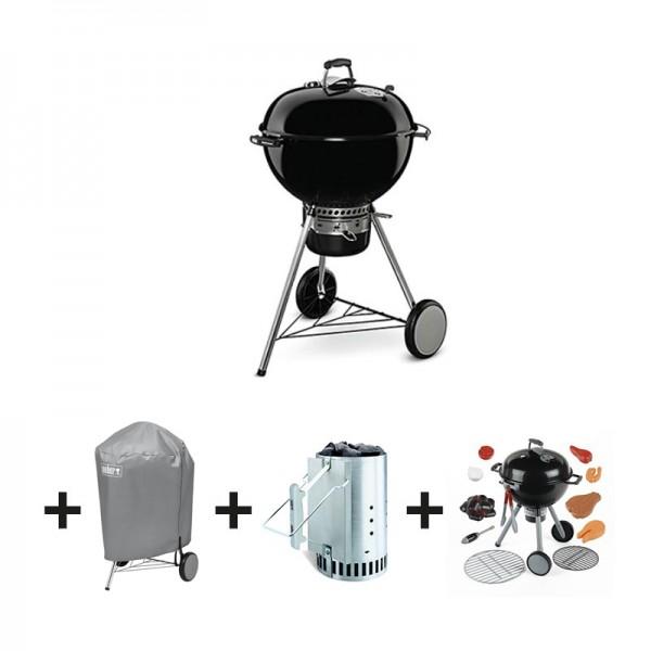 pack barbecue charbon quot master touch gbs quot 57 cm noir jouet housse kit weber desjardins fr