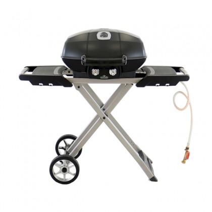 Barbecue gaz sur chariot pliant