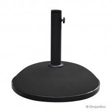 Pied de parasol ronds 25kg - DESJARDINS