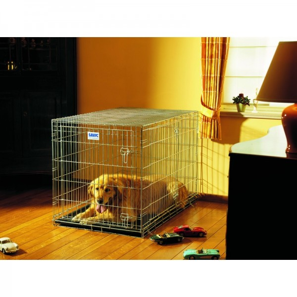 cage pour chien savic r sidence 122cm. Black Bedroom Furniture Sets. Home Design Ideas