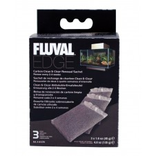 Charbons Fluval Edge Clean & Clear - Hagen - 3x45g