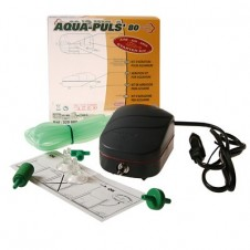 """Pompe à air """"Aqua-Puls' 80"""" - Pour aquarium de 10/80L"""