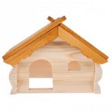 Chalet en bois pour rongeurs Zolux - 220x135x145mm