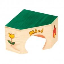 """Maison d'angle en bois """"Mini"""" pour souris Zolux"""