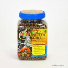 """Granulés pour tortue d'eau """"natural aquatic turtle food"""" Zolux -212g"""