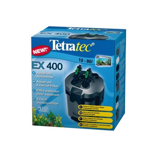 Filtre ext rieur tetratec ex400 pour aquarium de 10 for Filtre exterieur pour aquarium