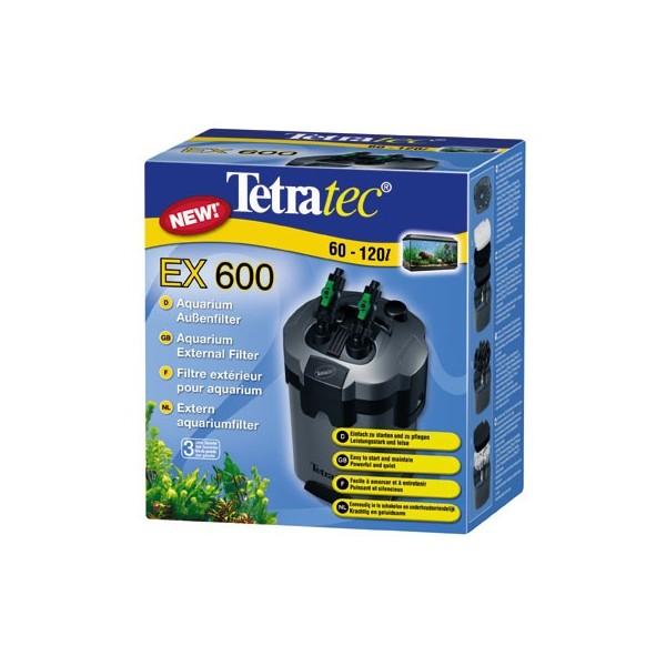 Filtre ext rieur tetratec ex600 pour aquarium de 60 120l for Filtre exterieur pour aquarium